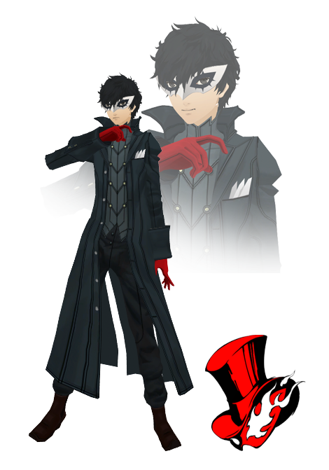 Persona 5 joker mask png. Mmd model download by