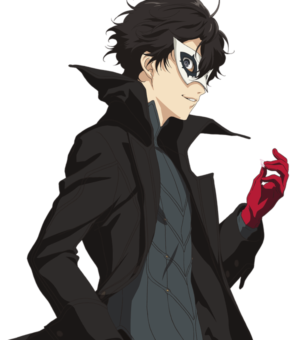 Persona 5 the animation png. Joker amamiya ren image