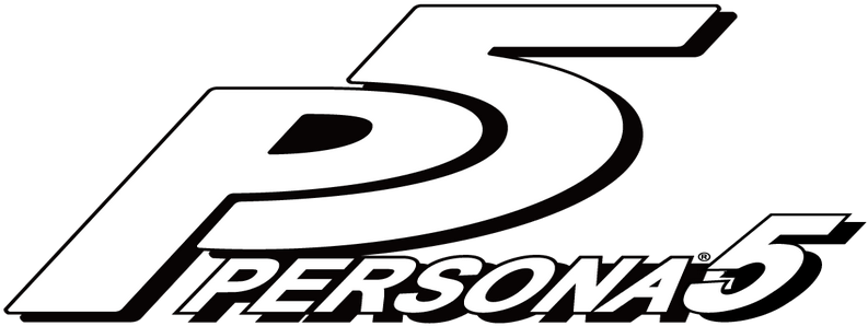 Persona 5 logo png. Download image with no