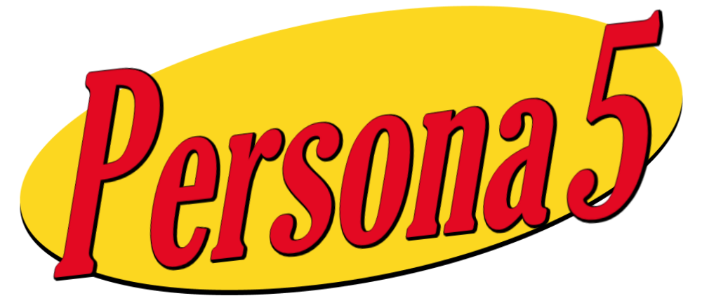 Persona 5 logo png. Seinfeld i quickly made