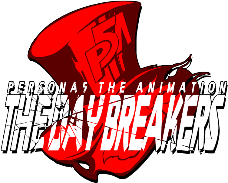 Persona 5 logo png. Image the animation day