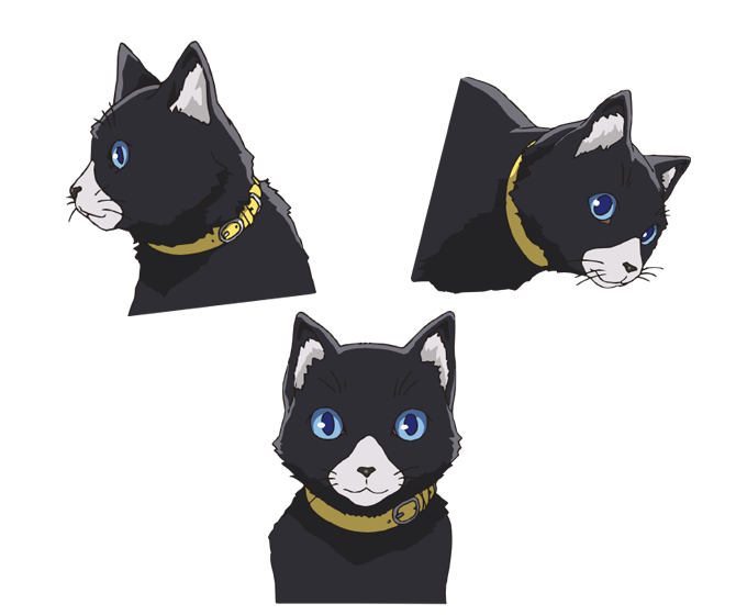 Persona 5 morgana png. Central on twitter concept