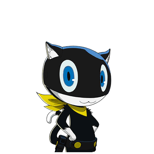 Persona 5 morgana png. Collection of extended character