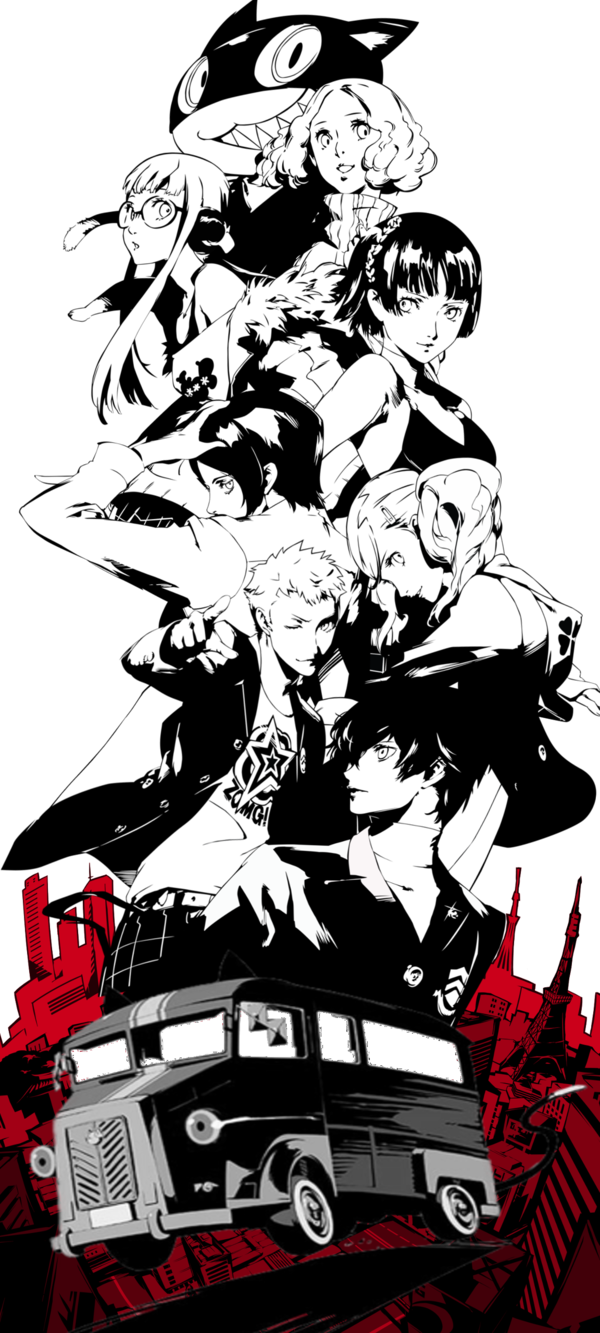 Persona 5 png. Pin by fusion on