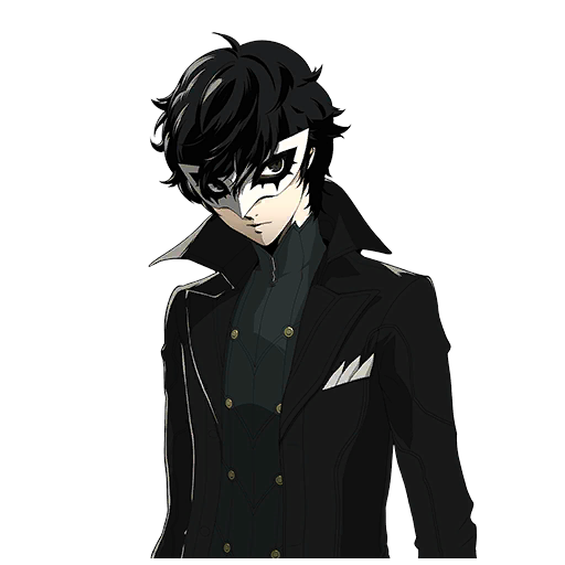 Persona 5 the animation png. Collection of extended character