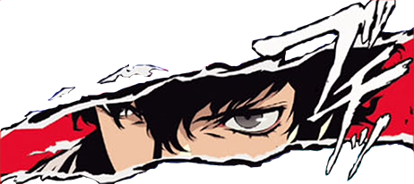 Persona 5 the animation png. P protagonist cut in