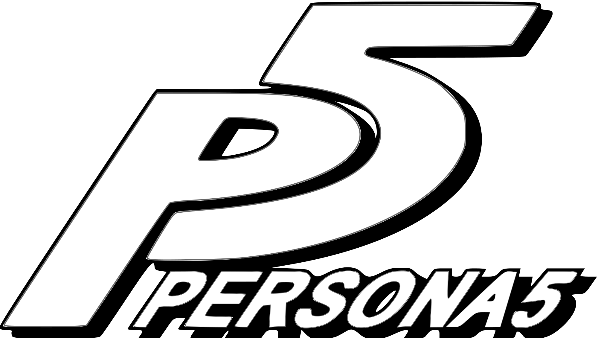 Persona 5 logo png. File svg wikimedia commons