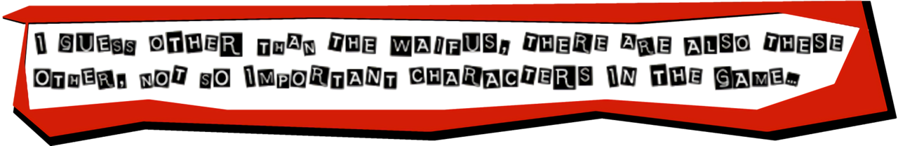 Persona 5 text box png. The hype thread of