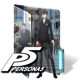 Persona 5 the animation png. Folder icon by kiddblaster