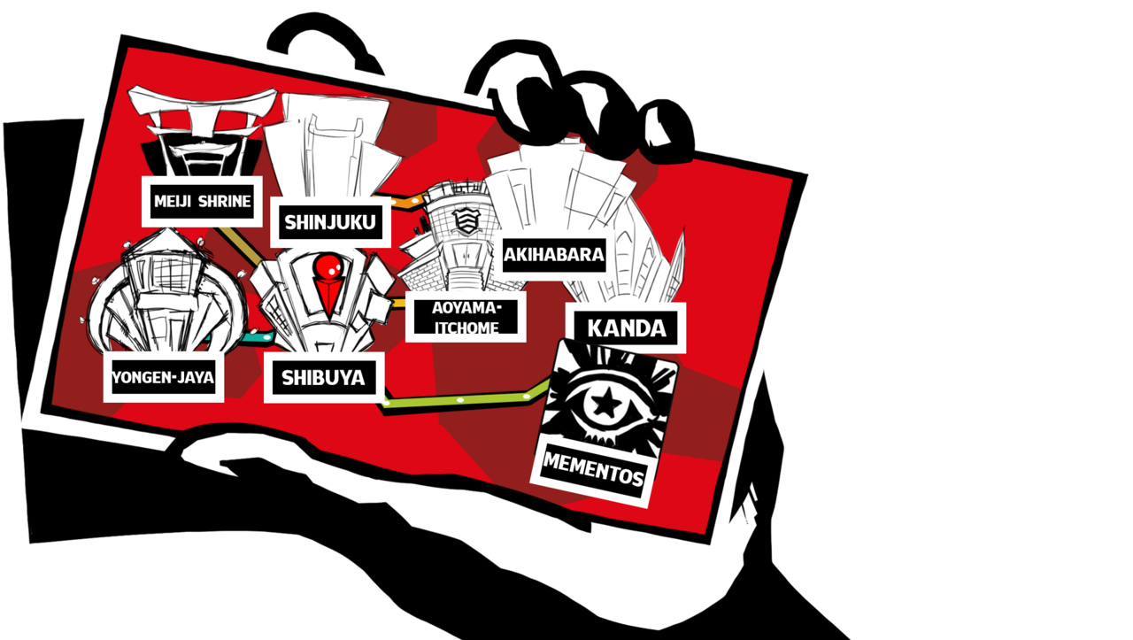 Persona 5 ui png. The gaybreakers i made