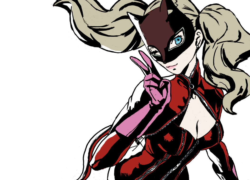 Persona drawing ann. Takamaki by balagergo pinterest