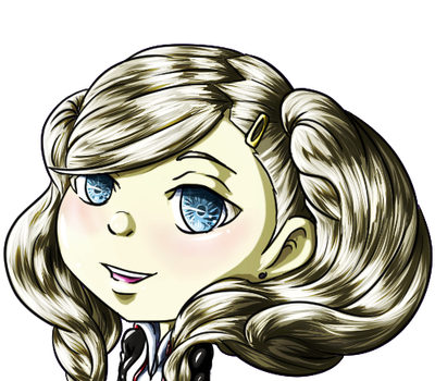 Persona drawing ann. Icon by clueless on