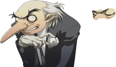 Persona drawing igor. Playstation the spriters resource