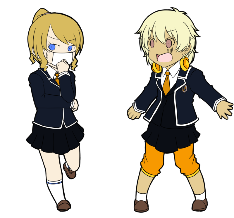 Persona drawing q style. P ch room mates