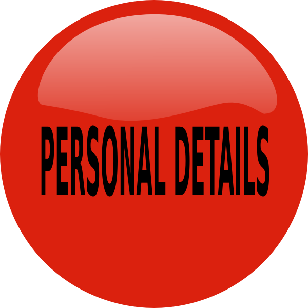 Personal clip art. Collection of details