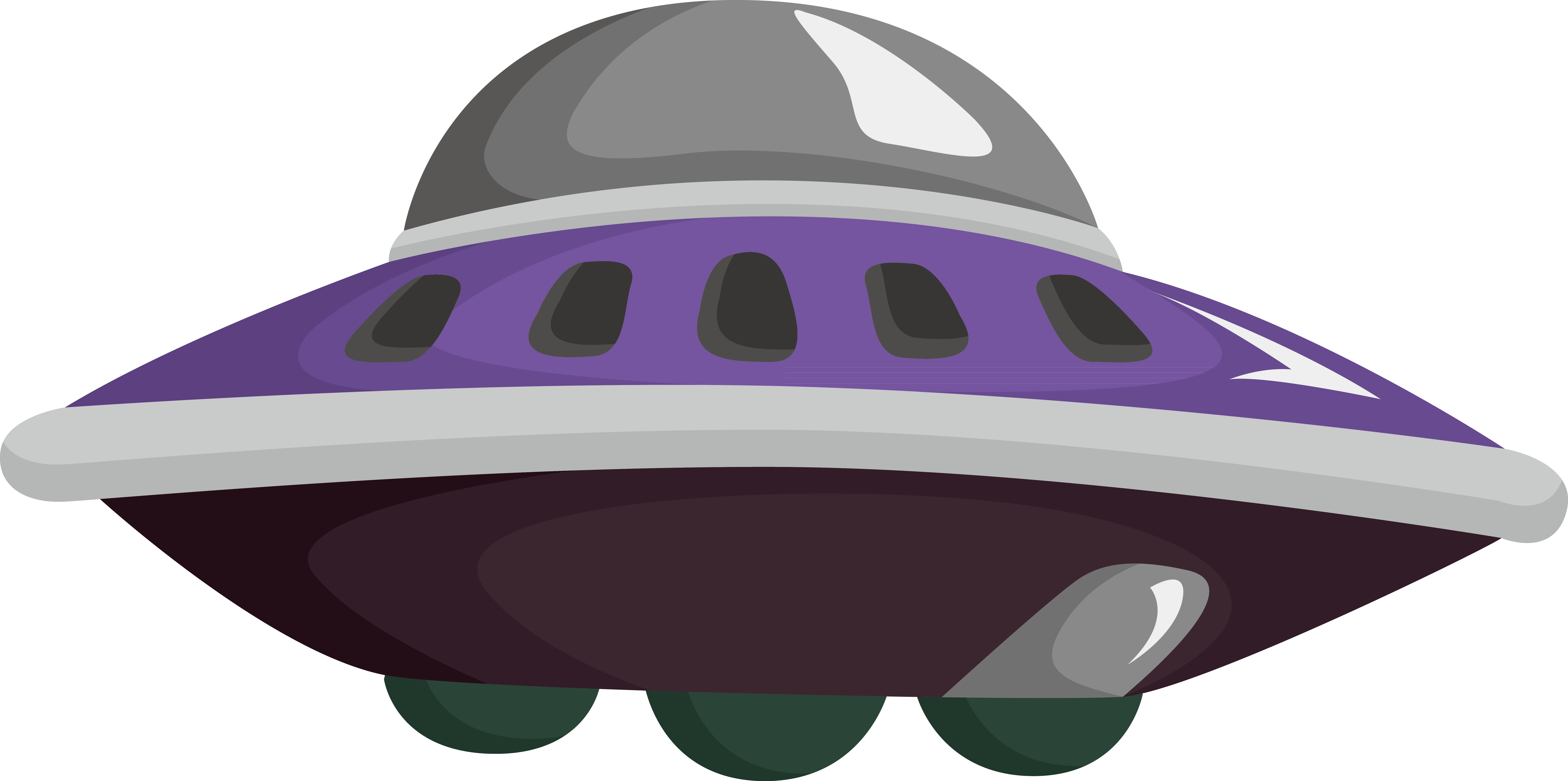 Personal clip objects. Unidentified flying object spacecraft