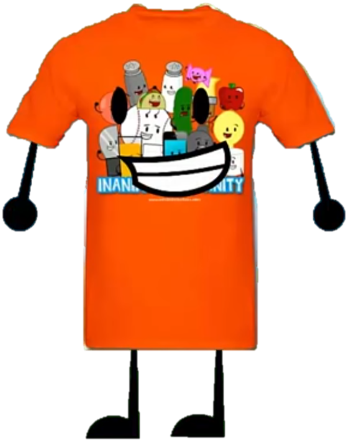 Personal clip objects. Inanimate insanity shirt object