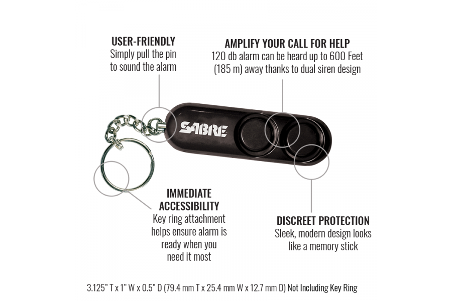 Personal clip sabre. Running safety gear bundle