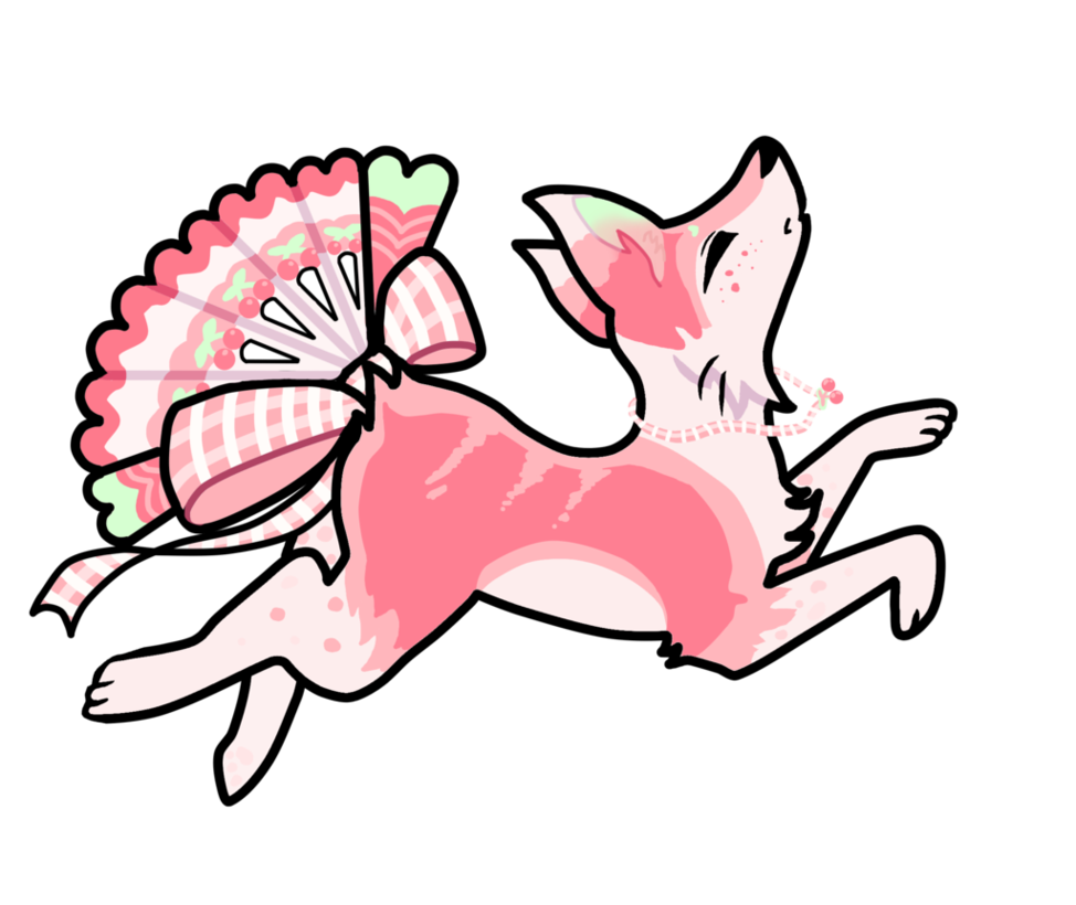 Personality drawing. Cherry foxfan dta updated