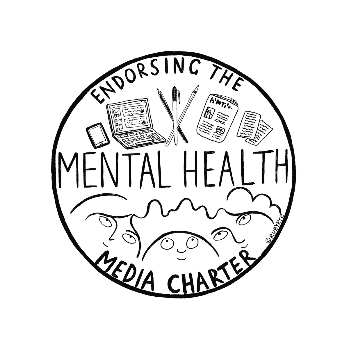 Personality drawing mental health. Media charter mhmediacharter brizzlelass