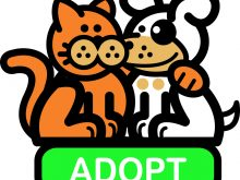 Pet clipart animal shelter. Clip art adoption stock