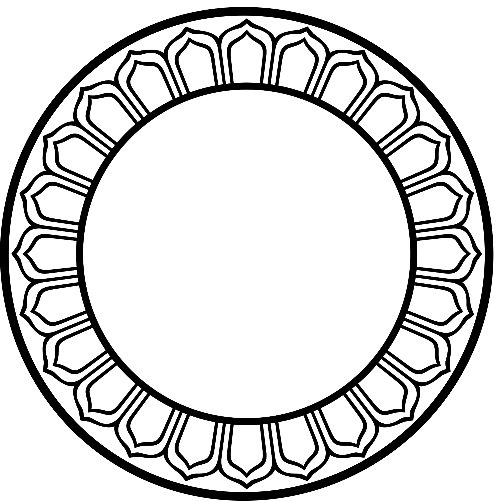 Petal drawing circle. File lotus svg wikimedia