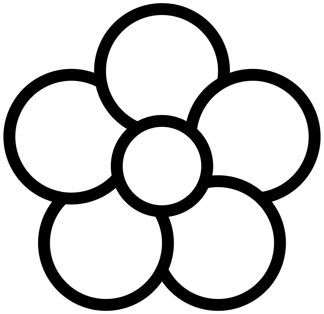 20 Petal Drawing Black And White For Free Download On Ya Webdesign