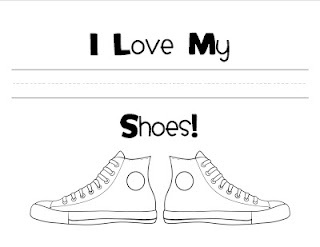 peter clipart white shoe