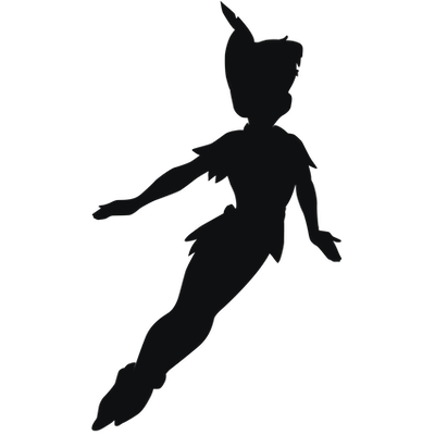Peter pan silhouette png. Download free transparent image