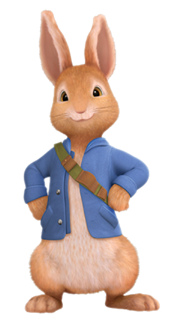 Peter rabbit png. Cartoon characters printables