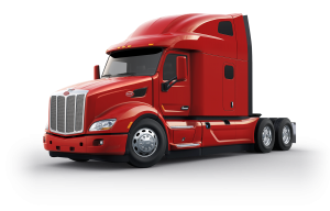 Peterbilt drawing model. Products services on highway