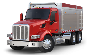 Peterbilt vector drawing. Products services