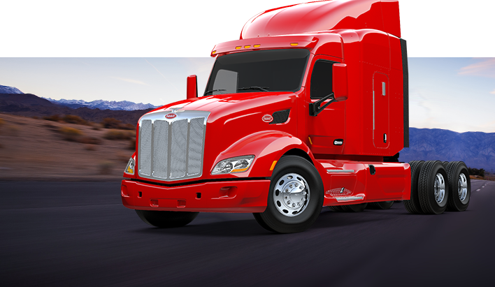 Peterbilt drawing technical. A custom built truck