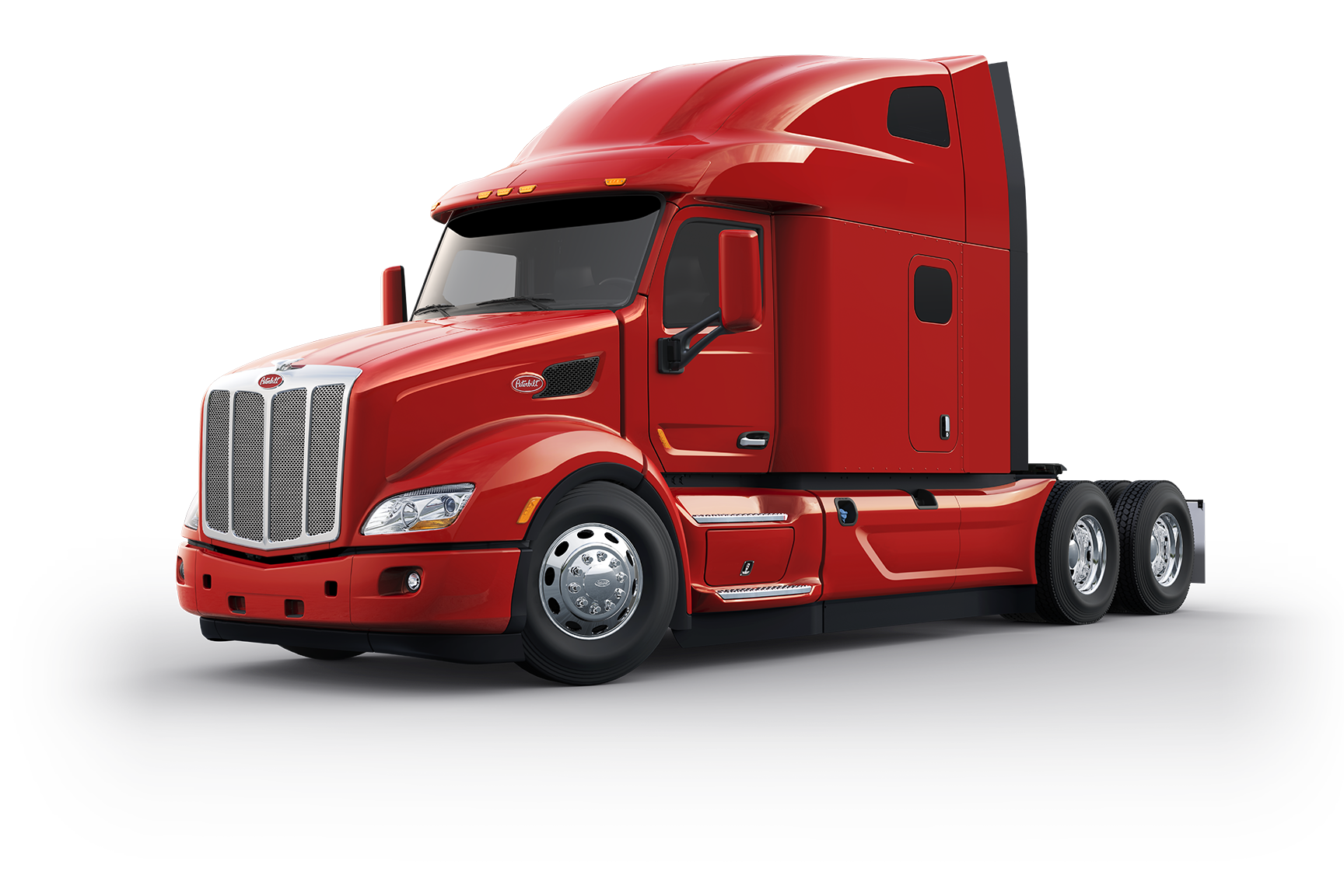Peterbilt drawing day cab. Announces several new features