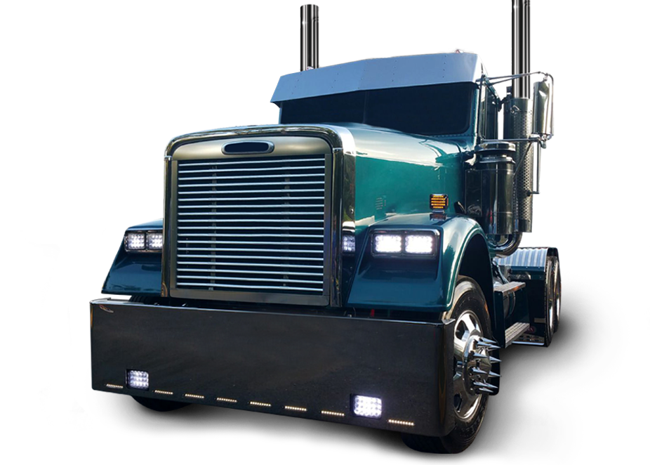 Peterbilt drawing flat top. Truck accessories and products