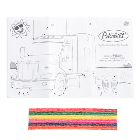 Peterbilt drawing art. Kids manitoba ltd wikki