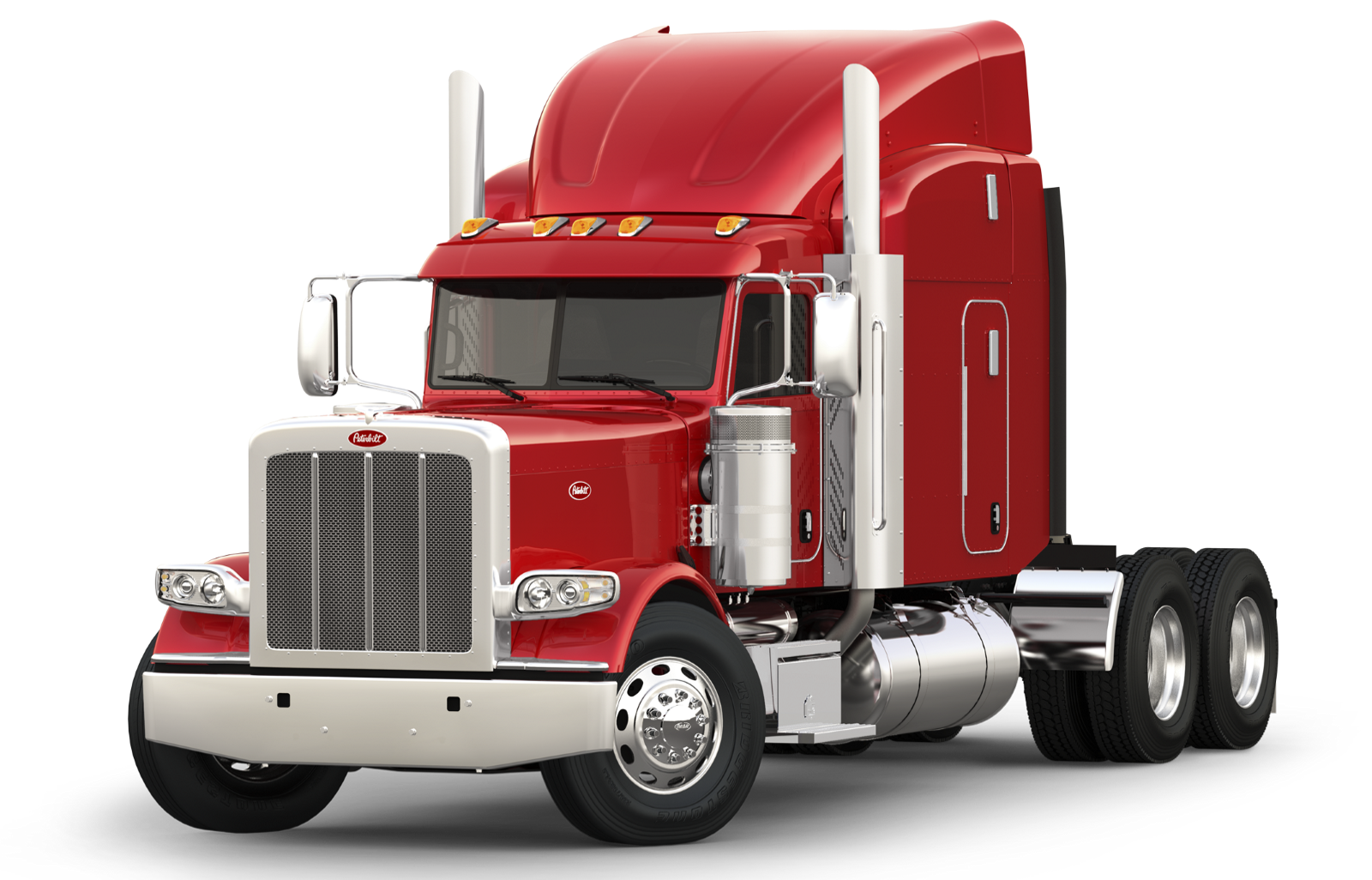 Peterbilt drawing art. Model truck
