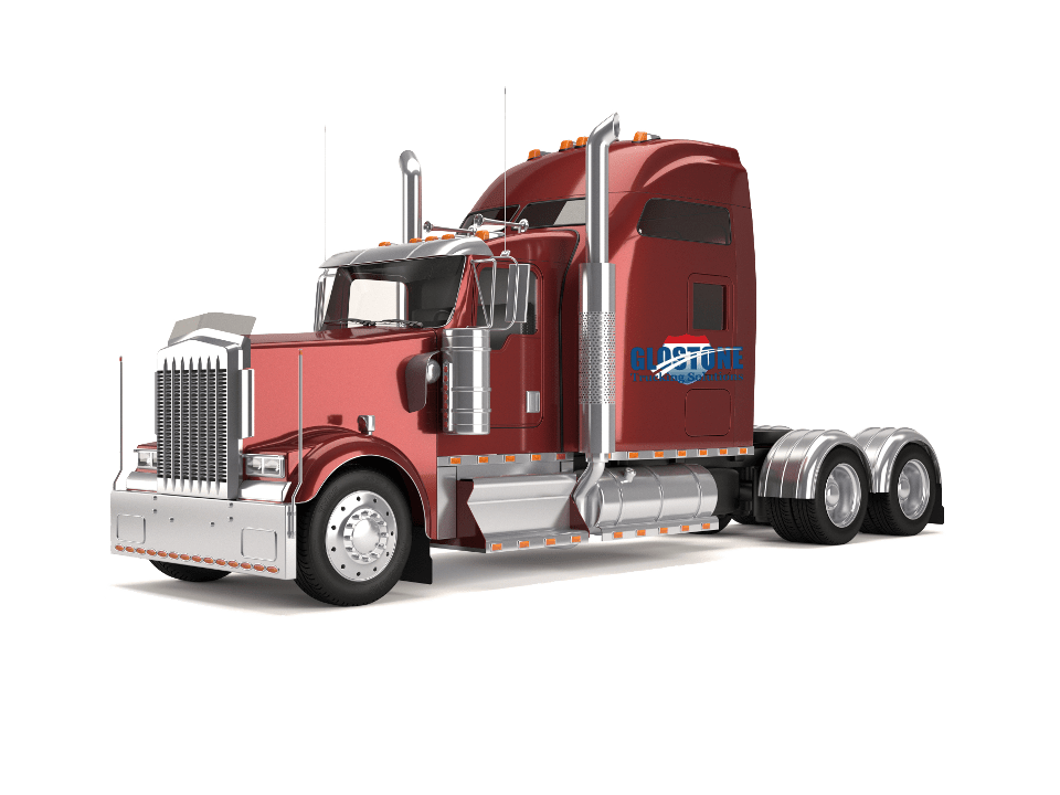 Peterbilt vector stock. Flatbed art