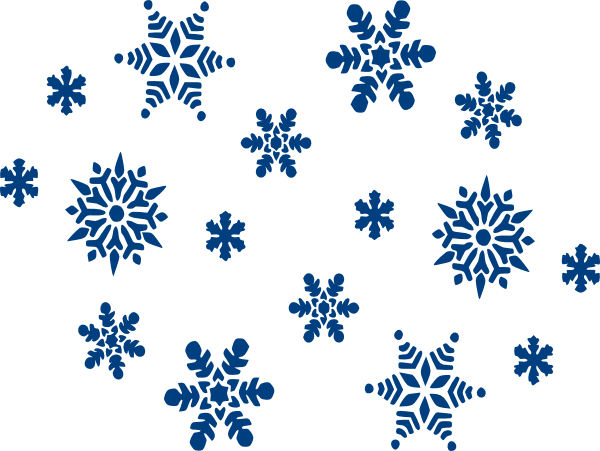 Snowflakes clipart falling. Snowflake background free download