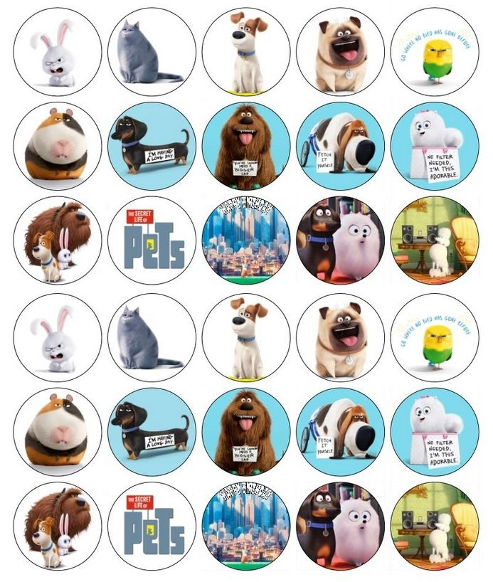 Pets clipart secret life pets. Best of printables
