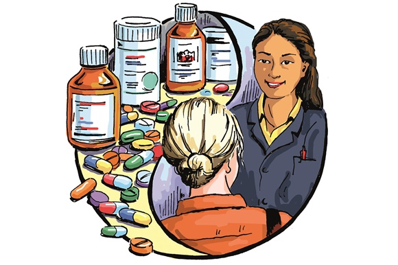 Defining clinical a new. Pharmacist clipart pharmacy school image freeuse stock