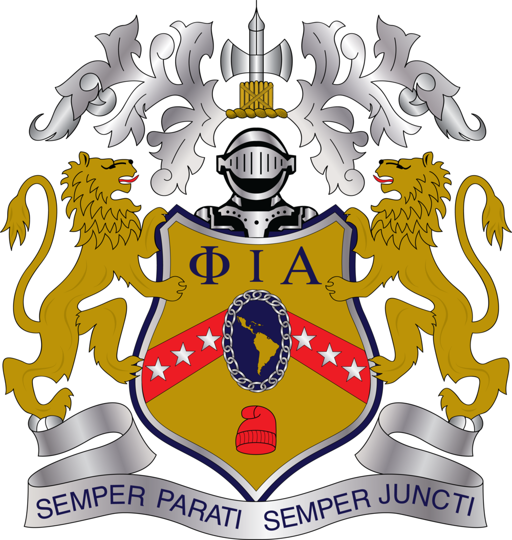 Phi iota alpha crest png. Copy of phiota today