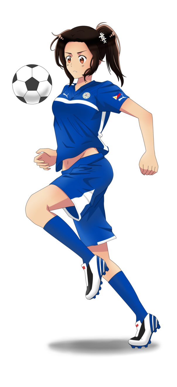 Philippines drawing anime. Soccer by exelionstar on