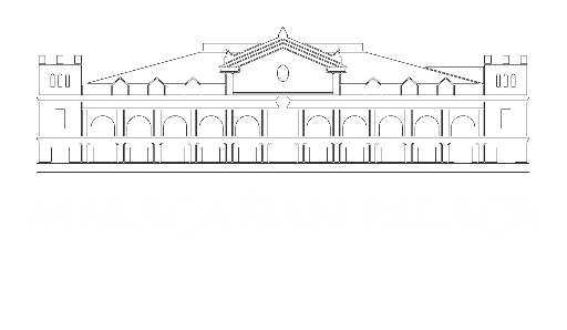 Philippines drawing postcard. The presidential museum and