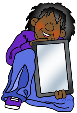 Free students with tablets. Phillip martin clipart picture transparent library