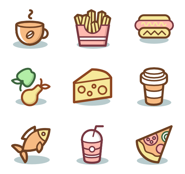 Pho vector food asia. Icon packs for
