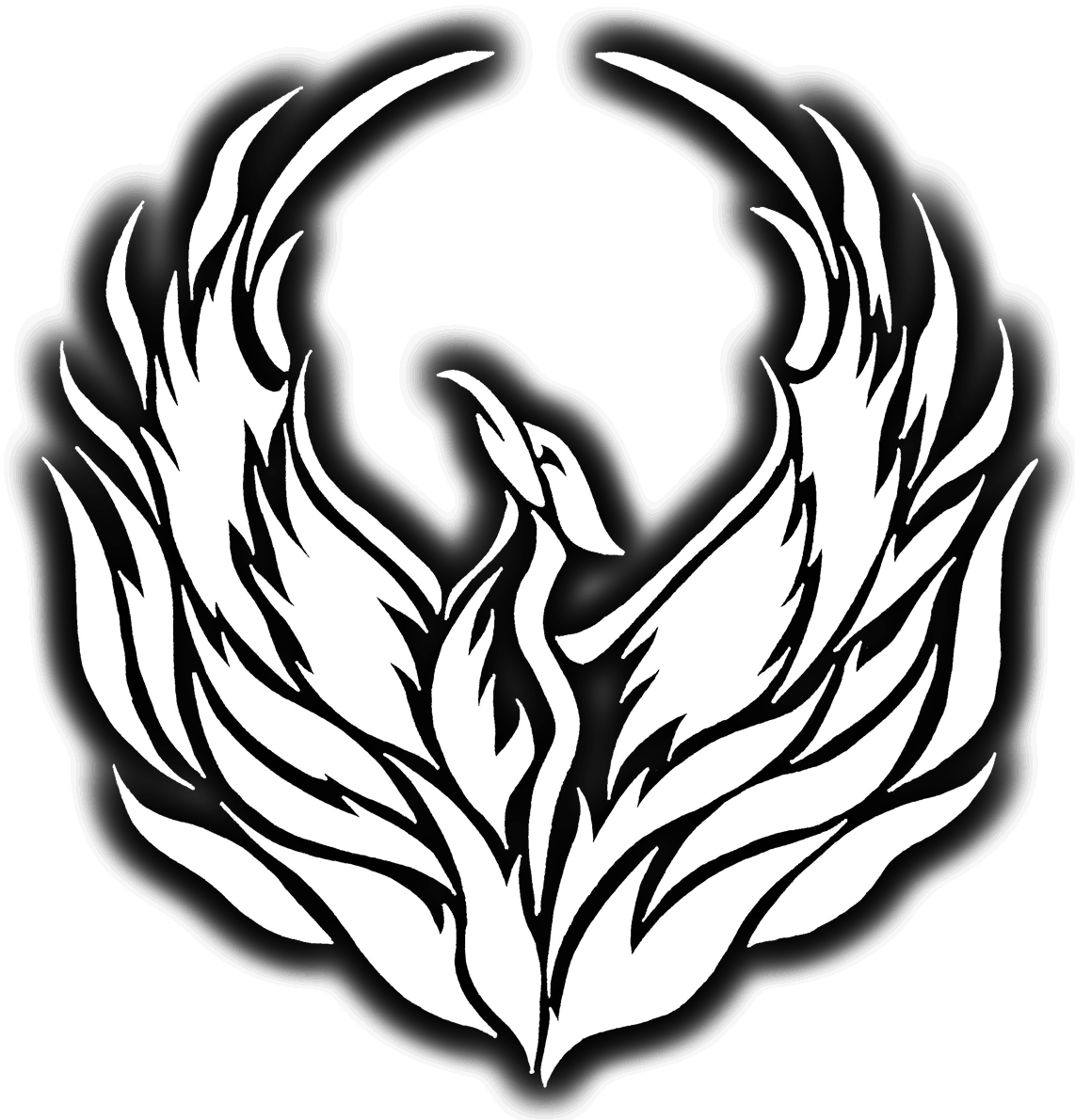 Phoenix drawing png. Home white kung fu