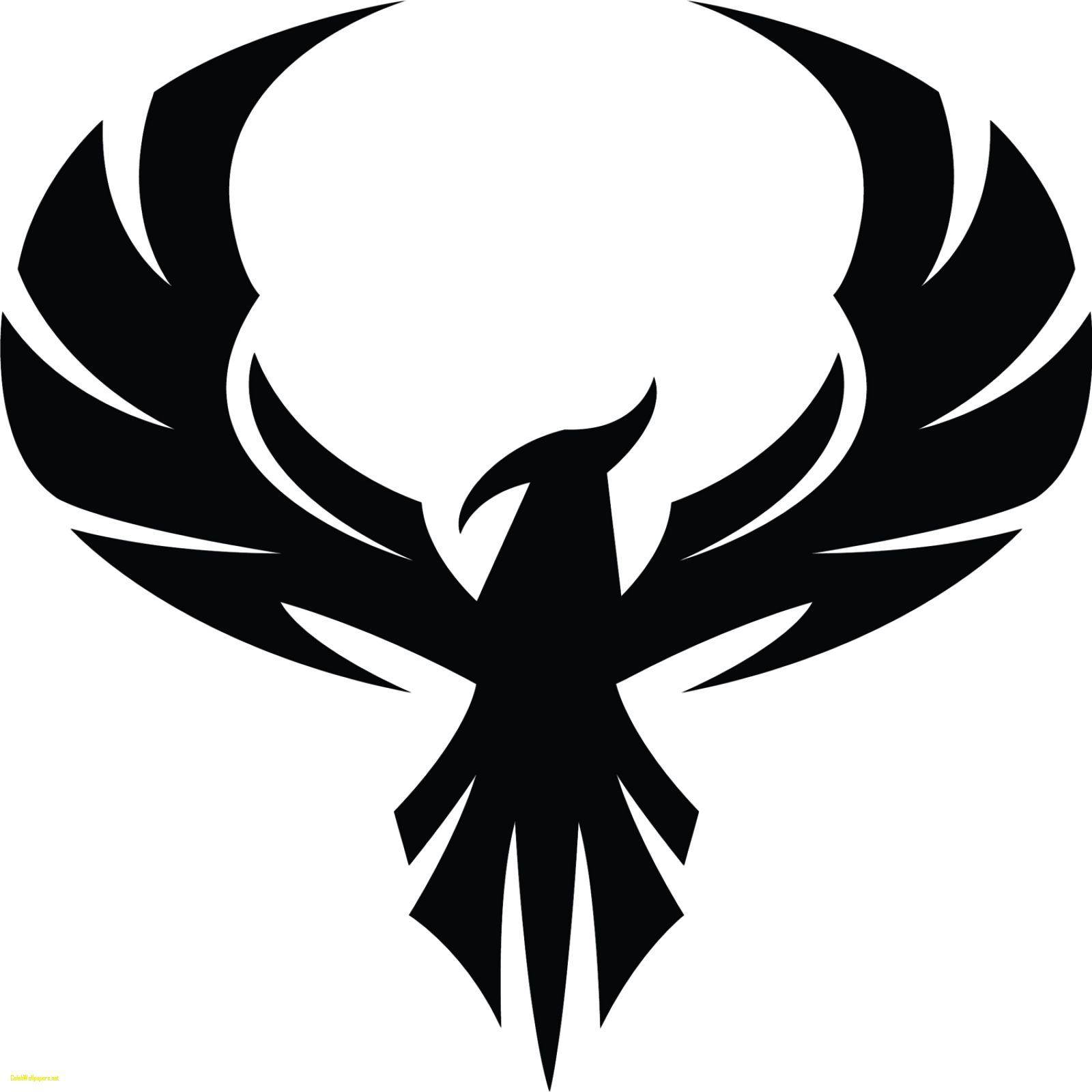 Phoenix clipart png. Silhouette at getdrawings com