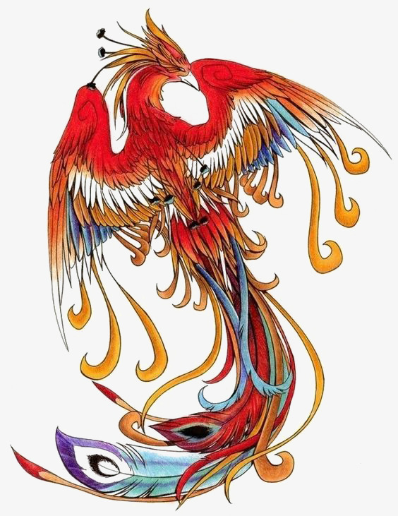 Phoenix clipart phoenix chinese. Wind red illustrator deductible