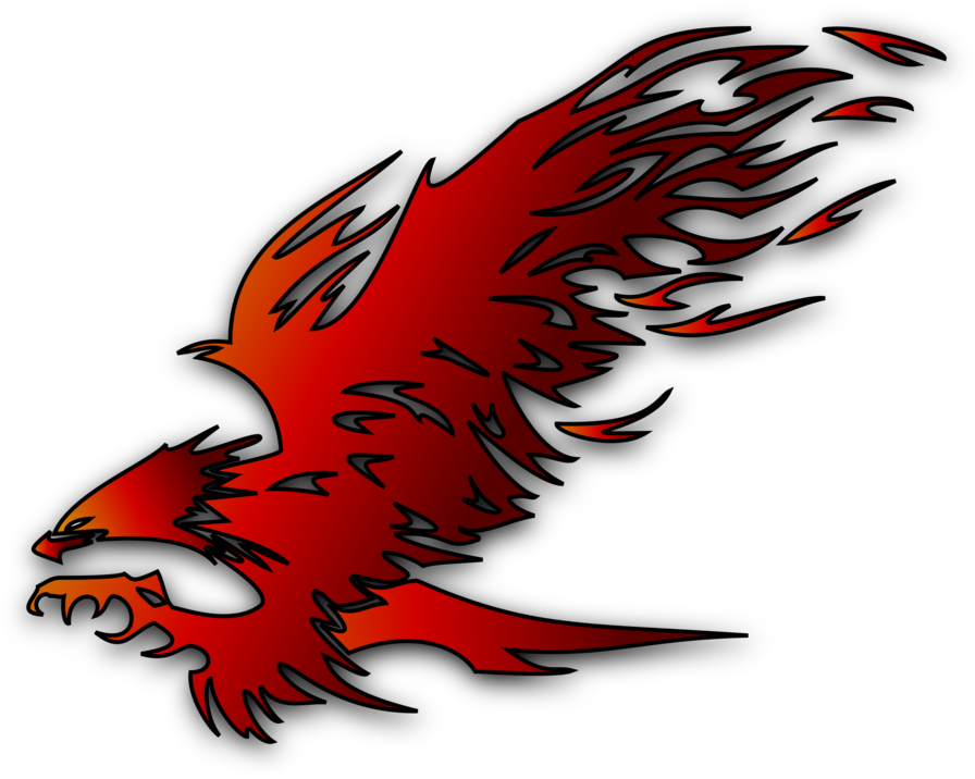 Phoenix drawing png. Download hd logo fenix